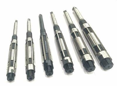 Quality Adjustable Hand Reamers - Carbon Steel Blades Set Of 6 Pcs- H4 To H9