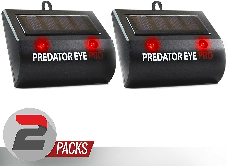 2 pack predator guard solar power led
