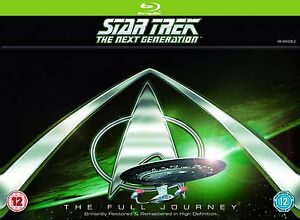 Star Trek The Next Generation Complete Series Seasons 1-7 New Blu-ray Regn Free