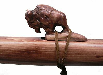 Authentic Native American Eagle Flute hand made Jonah Thompson key of F# Cedar