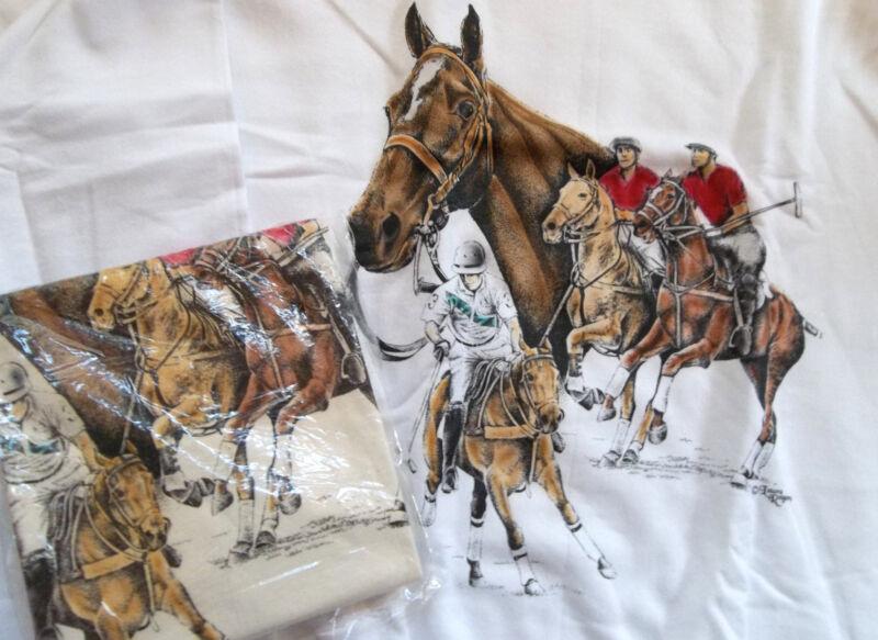 Polo Sport Horse Sweatshirt & T-shirt Set  LG ( 42 ~ 44 )