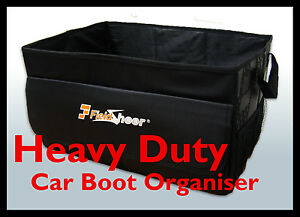 car boot tidy organiser heavy duty storage bag box. Black Bedroom Furniture Sets. Home Design Ideas