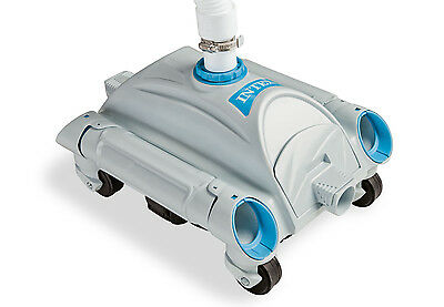 Intex 28001E Automatic Pool Cleaner Pressure Side Vacuum Cleaner w/ 24 Foot Hose