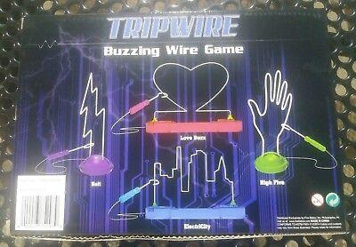 Tripwire Buzzing Wire Game Buzzer Skill Toy Steady Hand New - Game Buzzers