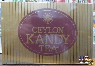 Ceylon Pure Black Tea Mlesna brand 100 Tea Bags 200 g Kandy Reginald Tea (Ceylon Kandy Black Tea)