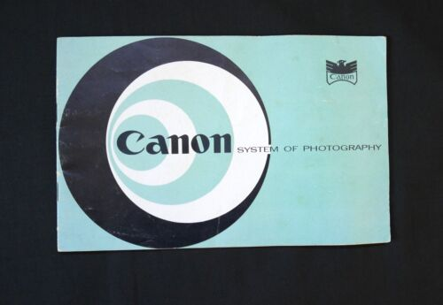 Canon V and IVS2 Rangefinder Camera Sales Brochure (1956)  -  Rare