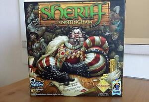 Sheriff of Nottingham Board game - near new! Surry Hills Inner Sydney Preview