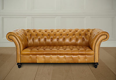 belmont chesterfield 2 str sofa  british made brand new direct from work shop
