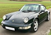 Porsche 911 / 964  Carrera 4 orig. British Racing Green