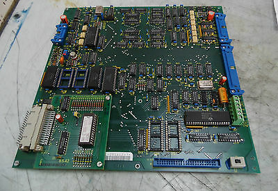 Indramat Control PC Board, # 109-468-3256a-4, Used,  Warranty