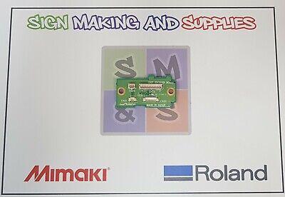 Genuine Roland Soljet Pro Ii Sc545-ex Grit Encoder Board Assy - W811904240