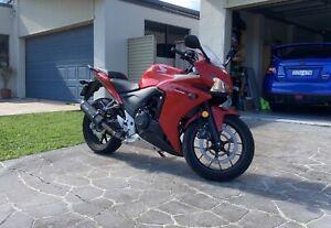 Motorbike Honda CBR500RA Learner