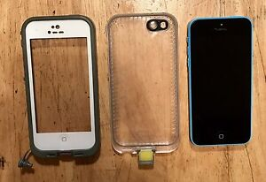 IPHONE 5c WITH LIFEPROOF CASE!