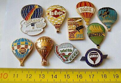 10 PIN'S PIN MONGOLFIERE BALLOON EGF ZAMAC comprar usado  Enviando para Brazil