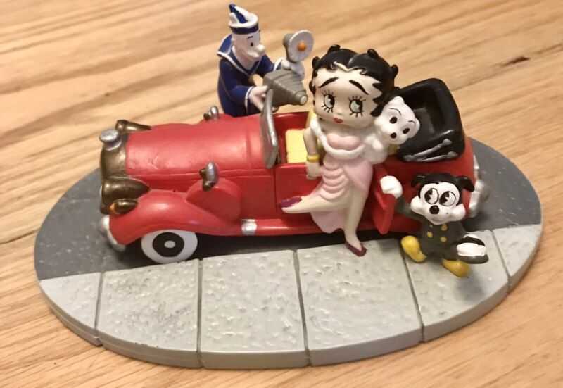 """COLLECTIBLE RARE BETTY BOOP """"RED CARPET DIVA"""""""