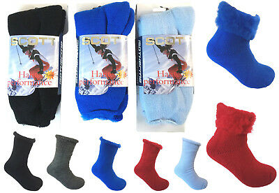 Insulated Thermal Winter Boots - Women Winter Heavy Duty Thermal Insulated Boots Ski Socks Fur Lined Heated Socks