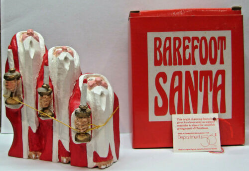 Dept 56 Barefoot Santa With Candles - Box Included