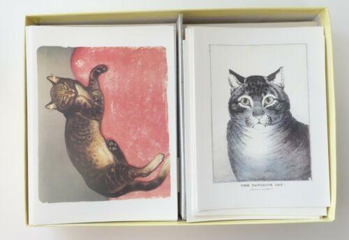 CAT NOTECARDS 48 BLANK GREETING CARDS METROPOLITAN MUSEUM OF ART MET Cats
