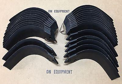 Agric Tiller Tines Full Set For 45 Afmj Series 04503303 04503400 Oem Quality