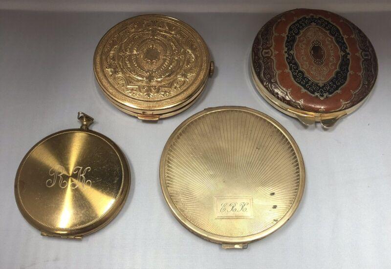 Vintage Compacts Lot/4
