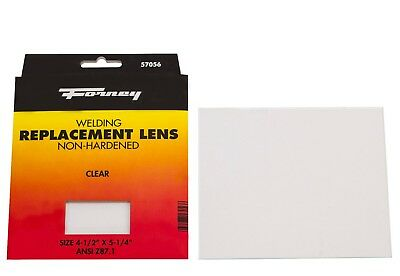 Forney 57056 Replacement Welding Safety Lens Eye Protective Clear Glass