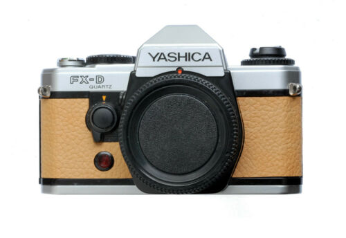 Yashica FX-D Quartz Replacement Cover - PU Leather - Moroccan