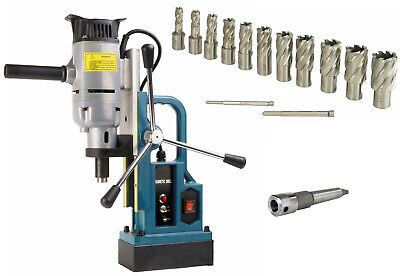 Steel Dragon Tools Md25 Magnetic Drill Press With 13pc 1 Hss Annular Cutter