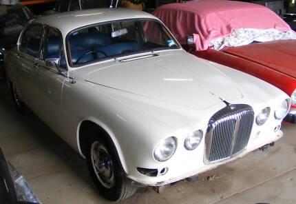 1968 DAIMLER SOVEREIGN Jaguar 420 4.2 auto compact