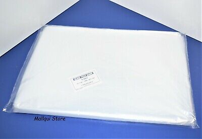 100 CLEAR 14 x 20 LAY FLAT OPEN TOP POLY BAGS PLASTIC PACKING ULINE BEST 1 MIL