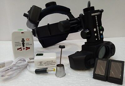 Led Indirect Ophthalmoscope With Accessories
