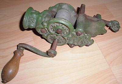 jugendstil /gründerzeit bohnenschneider küche antik verziert metall alt antik