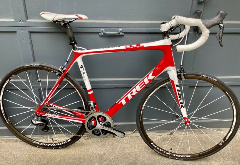 Trek Madone SSL 58cm H2 Dura Ace 9070 Di2 OCLV Carbon Road Bike US Made