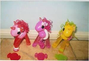 La La Loopsy ponies 3 for $10 Marsden Logan Area Preview