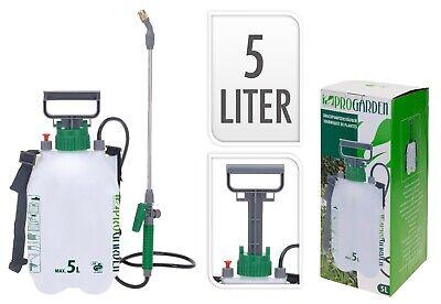 5 Liter Drucksprüher Sprühflasche Gartenspritze 5 L Unkrautvernichter 5L