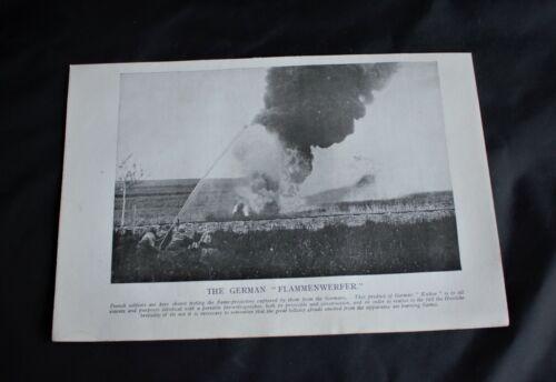 WWI PHOTO PRINT