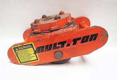 Multiton Roller Skid