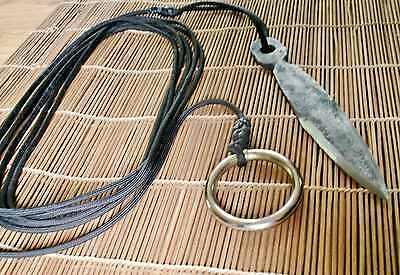 Hand Forged Kung Fu Ninja Johyo Rope Dart Kunai Tai Chi Shaolin Sheng Biao