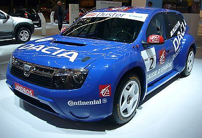 A racing version of the Romanian-built Duster