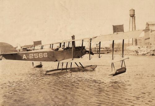 U.S. NAVY CURTISS N-9 FLOATPLANE~ NAVAL AIRCRAFT FACTORY PHOTO - 1922