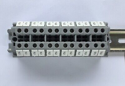 Phoenix Contact Terminal Block On Din Rail For Speaker Or Junction Block