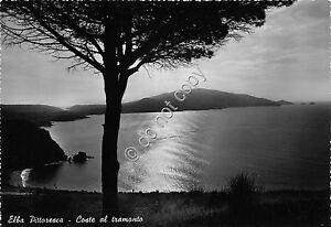 Cartolina-Postcard-Elba-Tramonto-anni-039-50