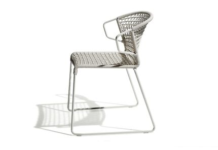 Outdoor dining chairs (purchased new from Space Furniture!)