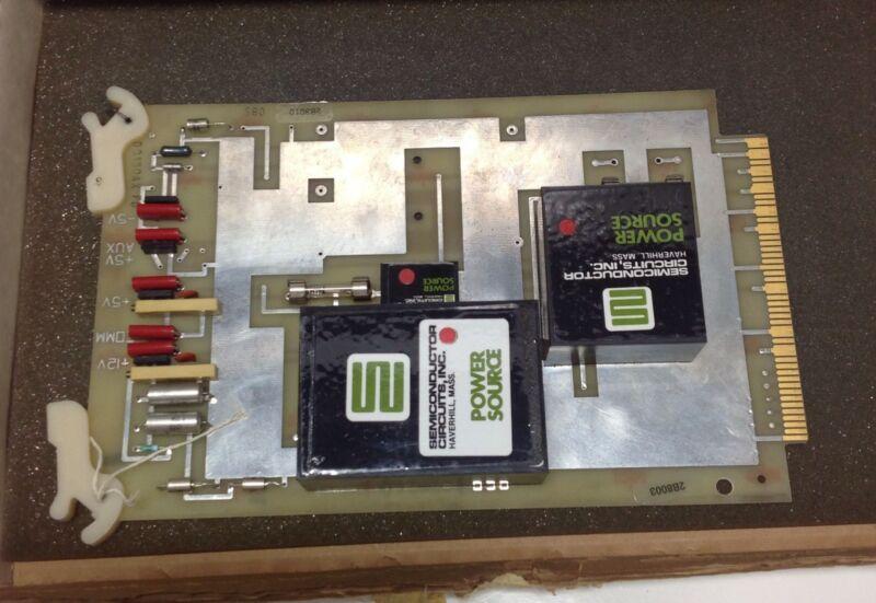 Foxboro Pcb Power Source Circuit Board Nib F7942e / F0107ak-d / D0130ax 105576