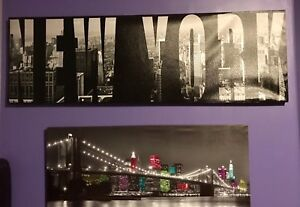 New York Skyline Canvas