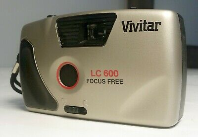 Vivitar LC600 35mm Focus Free Film Camera New No batteries needed ()