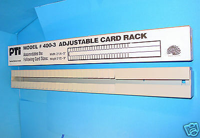 Time Card Rack Adjustable