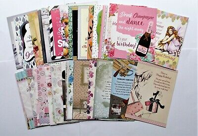 Hunkydory Little Book Verses, Quotes & Sentiments Card Toppers x 24