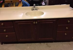 Vanity and counter top/sink