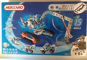 MECCANO SET 6515 - 15 models- Ages 8 to adult -mechanical construction Bulimba Brisbane South East Preview