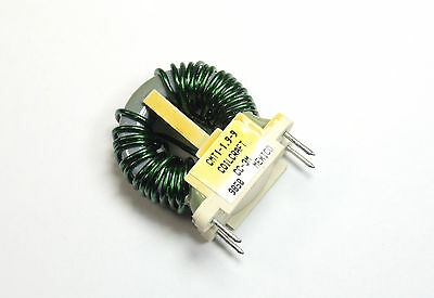 2pcs Common Mode Line Choke Inductor 9a 1.9mh Toroid Style Coilcraft Cmt-1-1.9-1